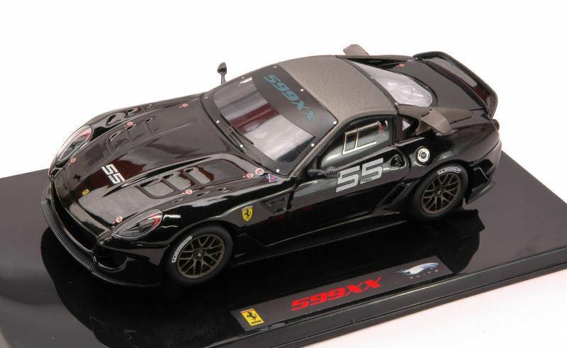 Ferrari 599xx Nera Scala 1 43 Mattel T6264  Edizione limitata