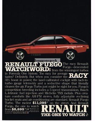 Completely renovated Renault Fuego 1.6 B Carburetor, blue ... |Blue Renault Fuego