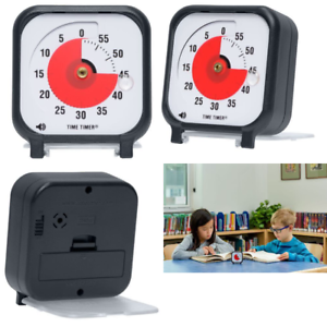 Time Timer 3 inch, 60 minute visual analog timer with flip out cover  stand, opt