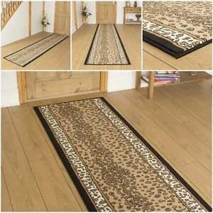 Leopard animal print hallway carpet runner rug mat for - Alfombras animal print ...
