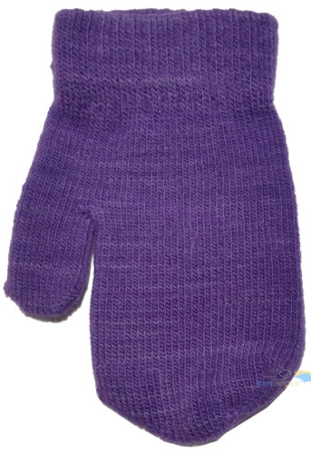 Baby Toddler Mittens Gloves Boys /& Girls Assorted Colours Winter One Size