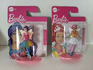Mattel Barbie Fairy Micro Collection - Lot of 2 - Starlight/Candy Princess - NEW