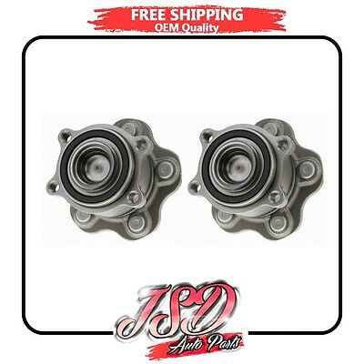 New Pair Rear Wheel Hub Bearing Assembly for Nissan Murano Quest 512407 x2