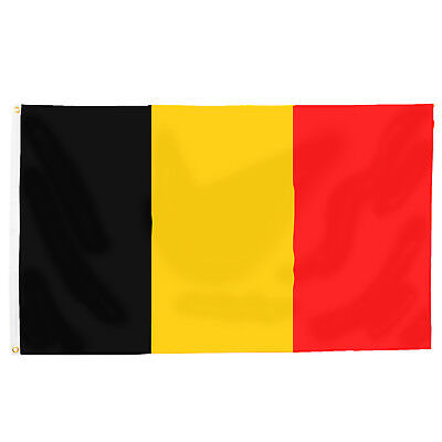 Fahne Hissflagge Belgien Flagge zum Hissen 150x90 cm Fußball WM EM Fan-Artikel