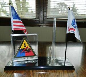 General Patton Army Flag w// Pole 1//6 Scale GI JOE Action Figures