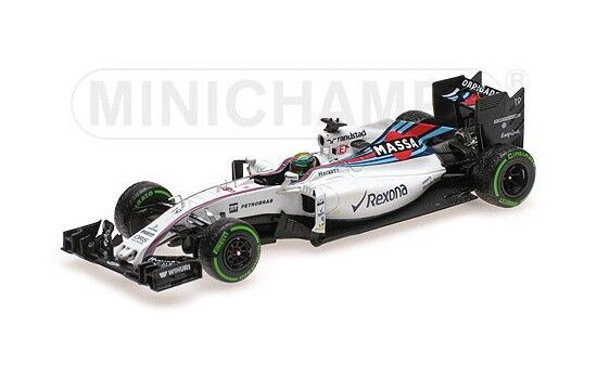 Minichamps williams Martini mercedes fw38 F. massa Brazil 2016 - 1 43