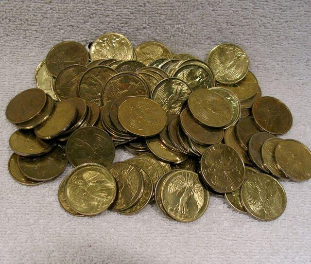 Pocket Guardian Angel - Used Set of 20 (Twenty) Protection Luck Coin Medal Token