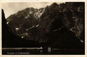 CPA-AK-Konigssee-mit-St-Bartholoma-GERMANY-878945