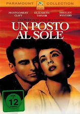 DVD - Ein Platz an der Sonne - Montgomery Clift und Elizabeth Taylor