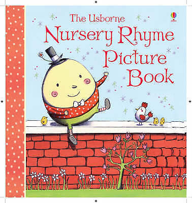 """1 of 1 - """"VERY GOOD"""" Nursery Rhyme Picture Book (Usborne Picture Storybooks), , Book"""