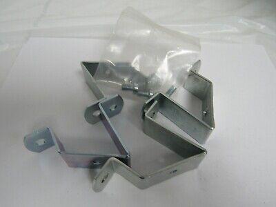 "4 x 5/"" Shelf Metal Bracket Wall Shelves Angled Brace Support White w Screws T057"