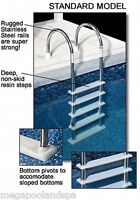 Cheap Aboveground Swimming Pool Ladder To Deck Inpool Standard Stainless Steel