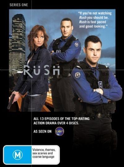 Rush : Series 1 (4 DVD set, 13 episodes) Region 4