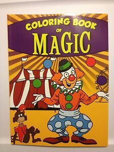 Image Is Loading Sneaky Clown Magic Coloring Book Great For