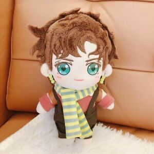 20cm JoJo/'s Bizarre Adventure Joseph Joestar Plush Toy Stuffed Doll with Clothes