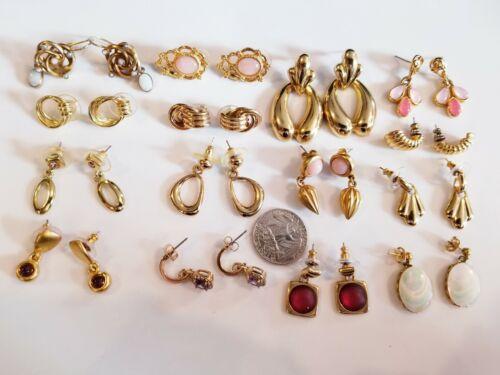 Bracelet Necklace Vintage Avon Gold Tone /& Silver Tone Parure 729 Pierced Earrings Set