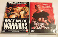 Once Were Warriors -  And The Sequel -  What Becomes of the Broken Hearted DVDs