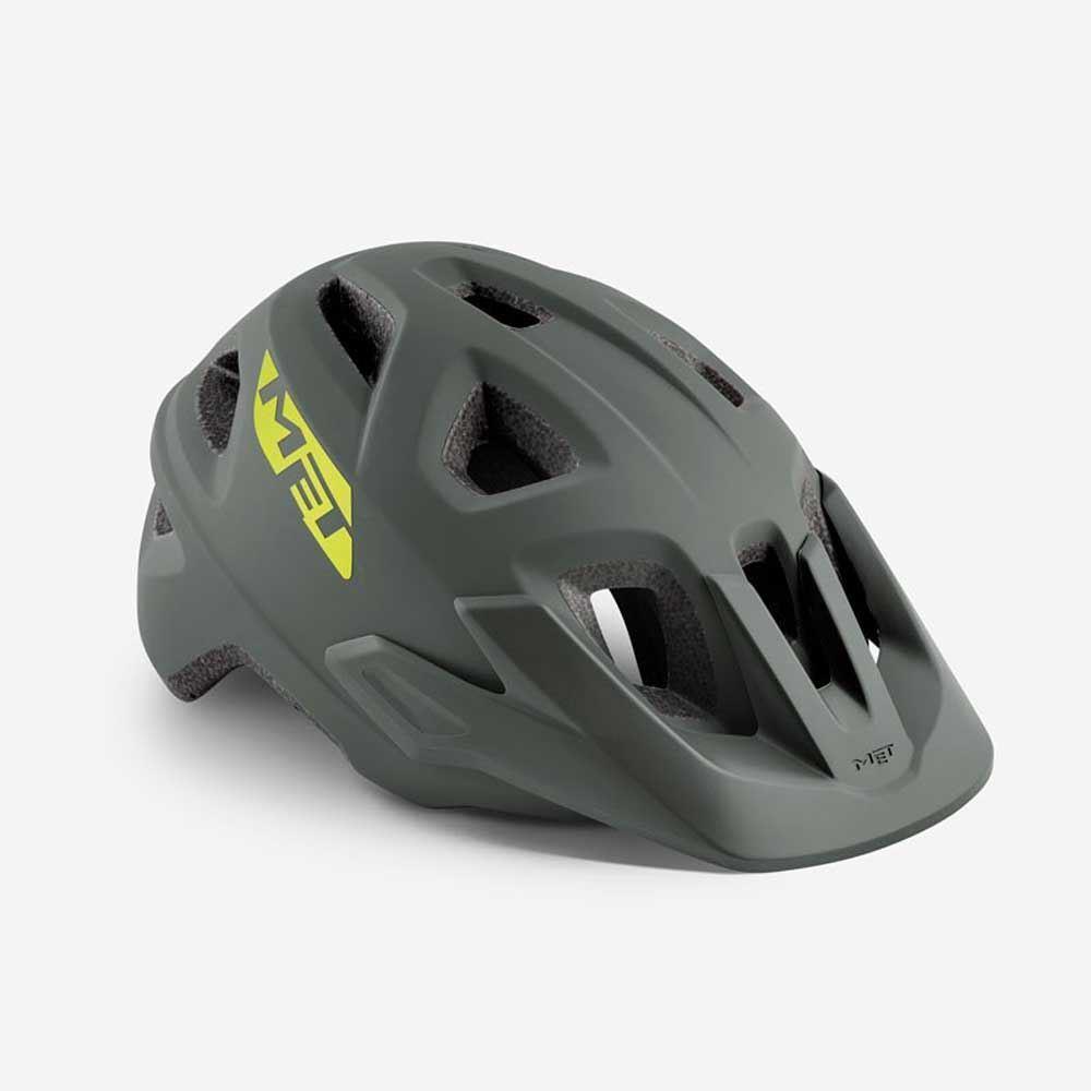 Mountain  Bike Cycle Helmet MET Echo Grey Matt 52 57  online sale