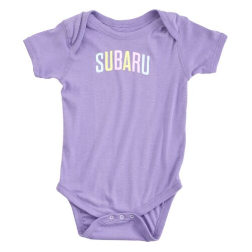 Official Subaru Baby Infant PASTEL Creeper Wrx Sti Impreza Forester Outback New