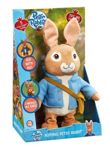 Peter Rabbit Talking and Hopping Peter Rabbit Plush Toy