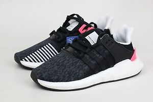 low priced d0a8e f549e Details about ADIDAS EQT SUPPORT 93/17 OG BLACK TURBO PINK BB1234 BOOST  MENS RUNNING SHOES NEW