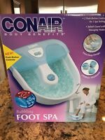 Conair Body Benefits Bubbling Foot Spa In Box