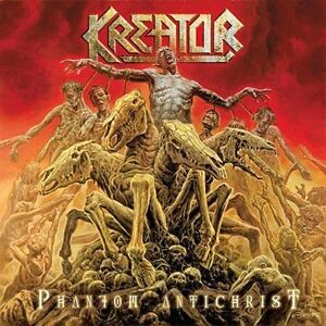 Phantom Antichrist + live in wacken  2 cd set rare  KREATOR ( free shipping)