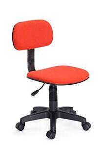 Image Is Loading Hodedah Armless Task Chair Classic Computer Desk Swivel