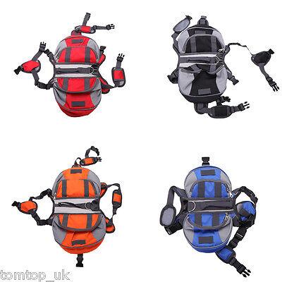 Pet Pack Dog Saddle Backpack Carrier Backpack for Travel Hiking Camping Harness