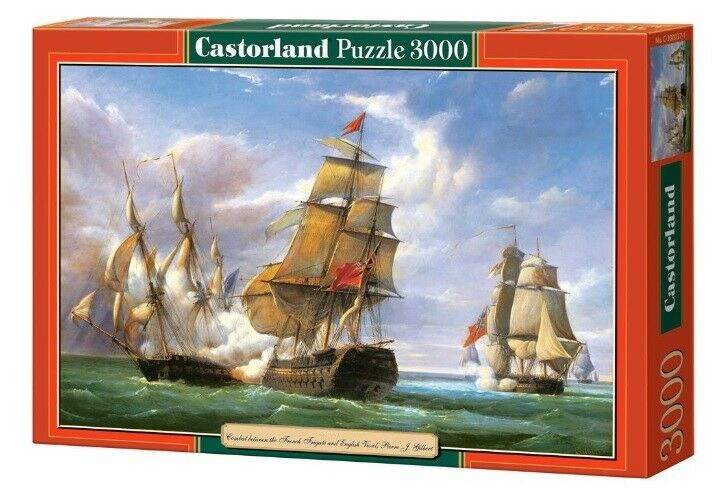 Castorland jigsaw puzzle 3000  - Combact - Ships