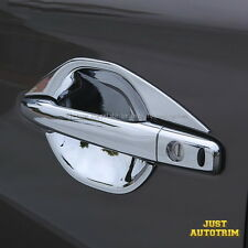 Chrome Door Handle Bowl Cover Trim For 2015-2017 Mitsubishi OUTLANDER