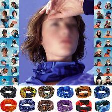 Bufanda de deporte Pañuelo Bandana Cabeza Cara protección de cuello MTB Ciclismo