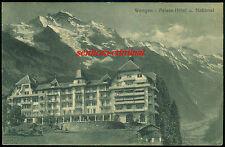 AK 1912 - WENGEN - Palace-Hotel u. National - frankiert - gelaufen