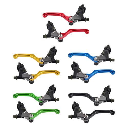 Short Stunt Cable Brake /& Clutch Lever Perch For Yamaha Honda Kawasaki Suzuki