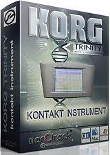 Korg Trinity Plus Samples Sounds NI KONTAKT NKI norCtrack Kontakt Instrument