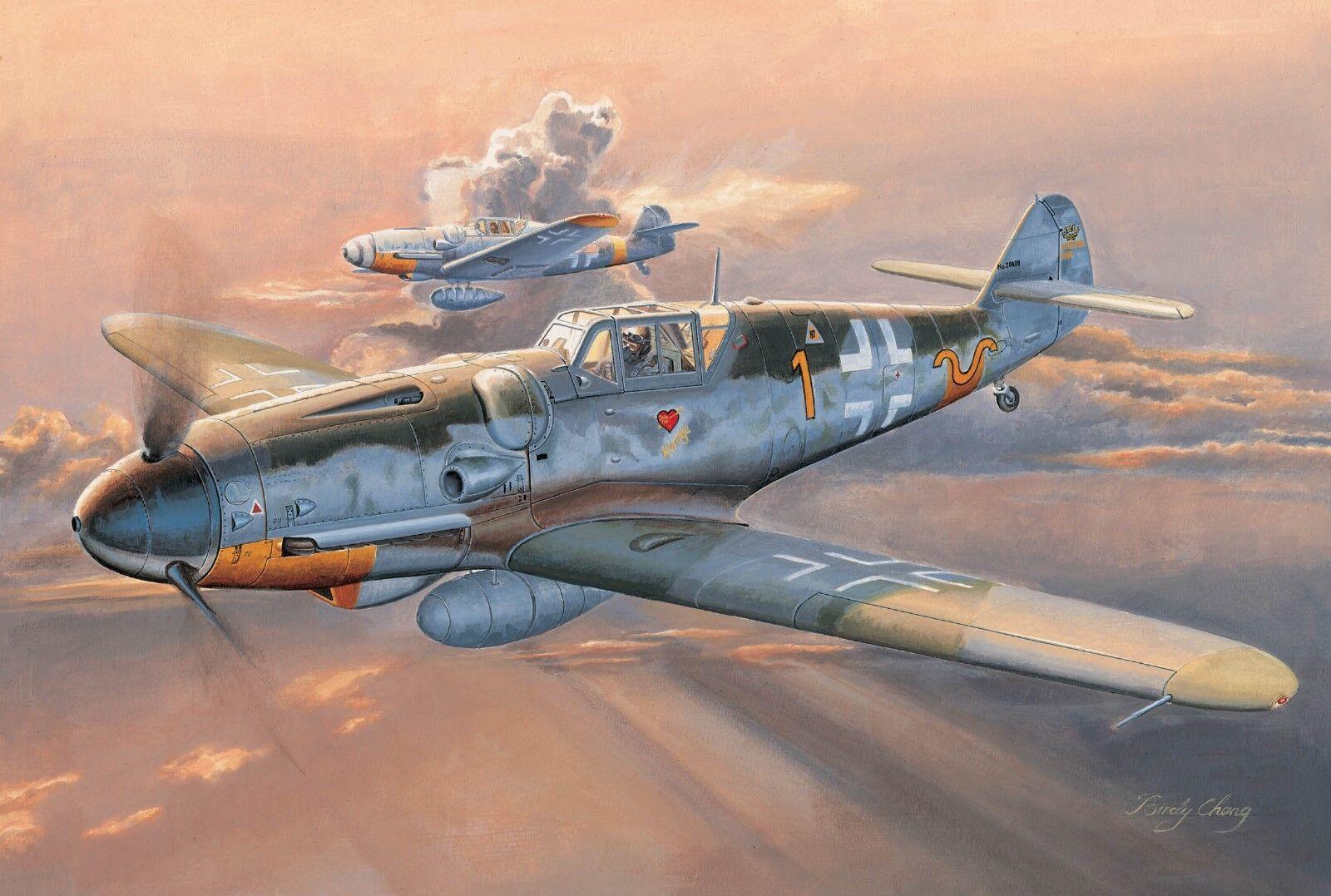 1 32 TRUMPETER MESSERSCHMITT Bf109G-6 (EARLY)