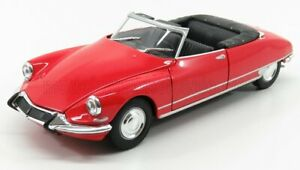 WELLY 1/24 CITROEN   DS19 CABRIOLET OPEN 1965   RED