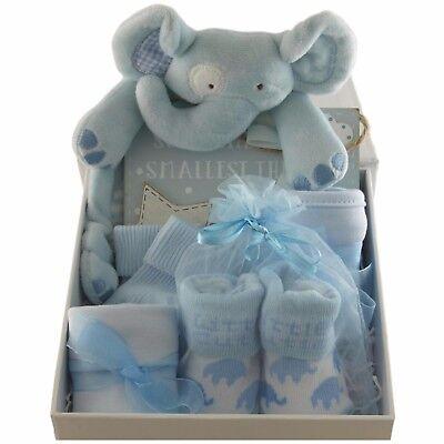 Baby gift basket//hamper white /& silver packed Twinkle keepsake box boy