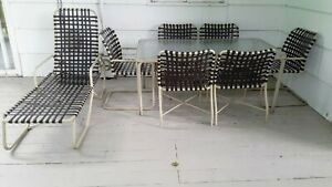 MEADOWCRAFT KEY WEST TUBULAR ALUMINUM OUTDOOR FURNITURE ...