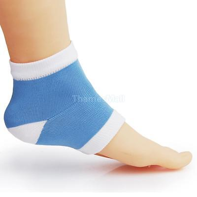 1 Pair Footful Moisturising Gel Heel Socks Cracked Foot Dry Hard Skin Protector