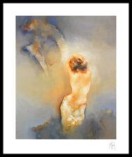 Sait Guenel Zurückhaltung II Poster Bild Kunstdruck im Alurahmen schwarz 60x50cm