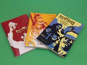 REX-MUNDI-ED-FREE-BOOKS-3-VOLUMI-COMPLETA-MAI-LETTI-Z11-15