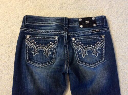 Rise Me gamba dritta Borchie carino Wash Miss 27 Dark Taglia Jeans gemme Low 34 Molto qwEx1FUzn
