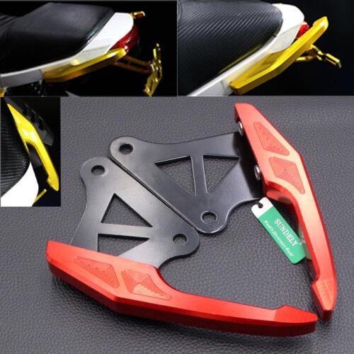 Rear Passenger Grab Bar Handle Red For Honda Grom 125 MSX125 Honda M3 2014-15