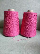"à tricoter ou crocheter ,fil torsadé "" clématite """