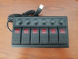 Button Box for PC Video Gaming