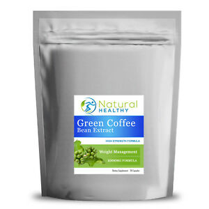1000 Green Coffee Bean Extract Capsules Gcb 1000mg Caffeine Fat Burner Strong Ebay