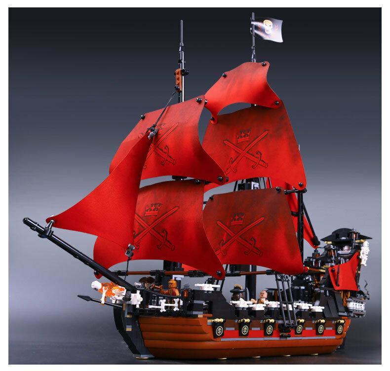 Queen Annes Revenge Pirates of the Caribbean Building Toys 1151pcs no box