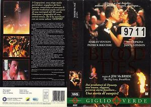 BLOOD TIES (1993) vhs ex noleggio - Italia - BLOOD TIES (1993) vhs ex noleggio - Italia