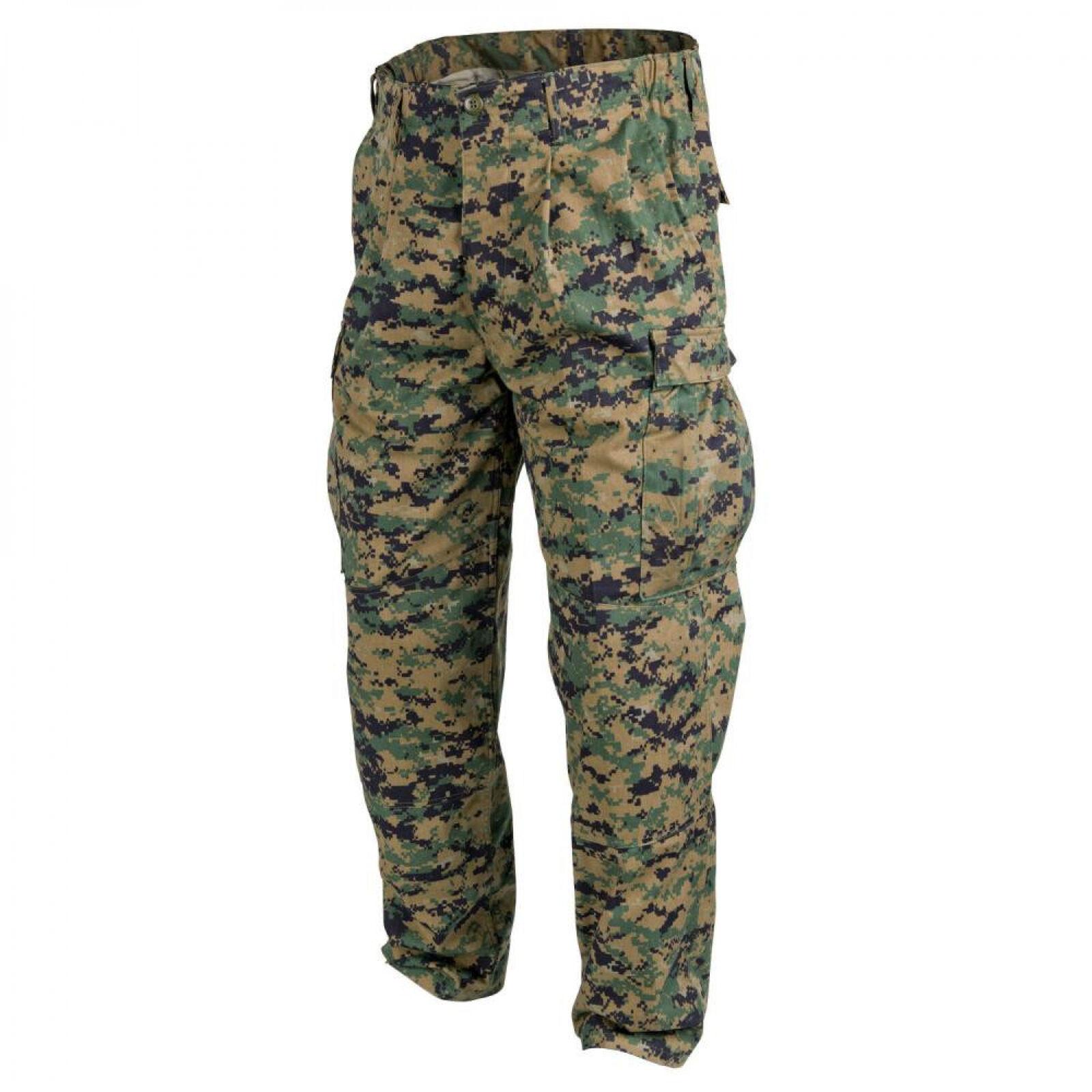 Helikon-Tex USMC Hose Uniform -PolyCotton Twill- USMC  Digital Woodland  happy shopping